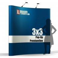 Nachdruck Pop-Up Display Premiumline gebogen...