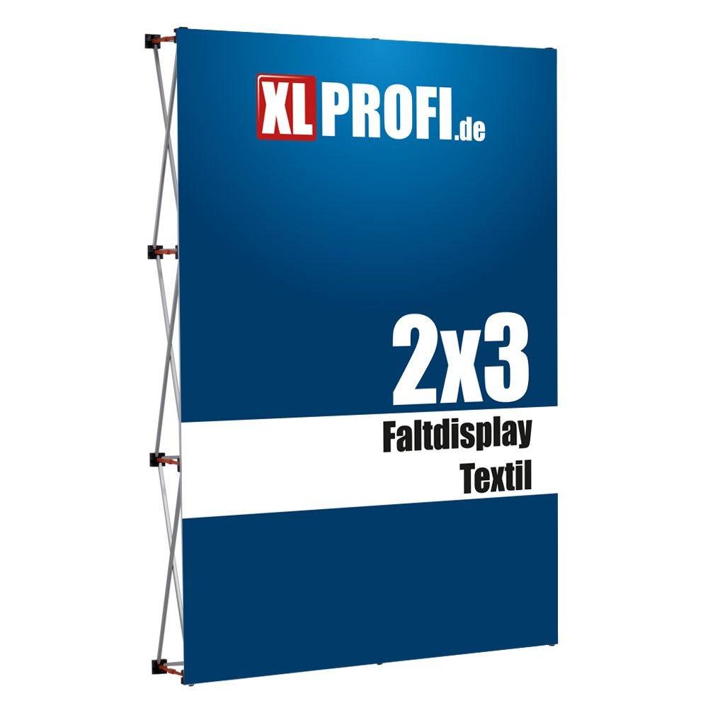 Faltdisplay Textil gerade, 339,90 €