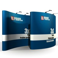 Pop-Up Display Proline gebogen 3x3 Felder inkl....